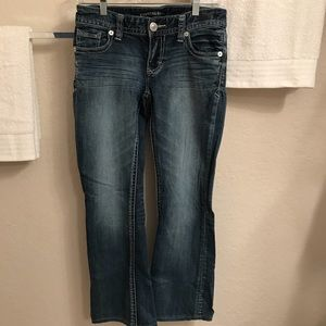 Express Stella Boot Cut/Low Rise Jeans